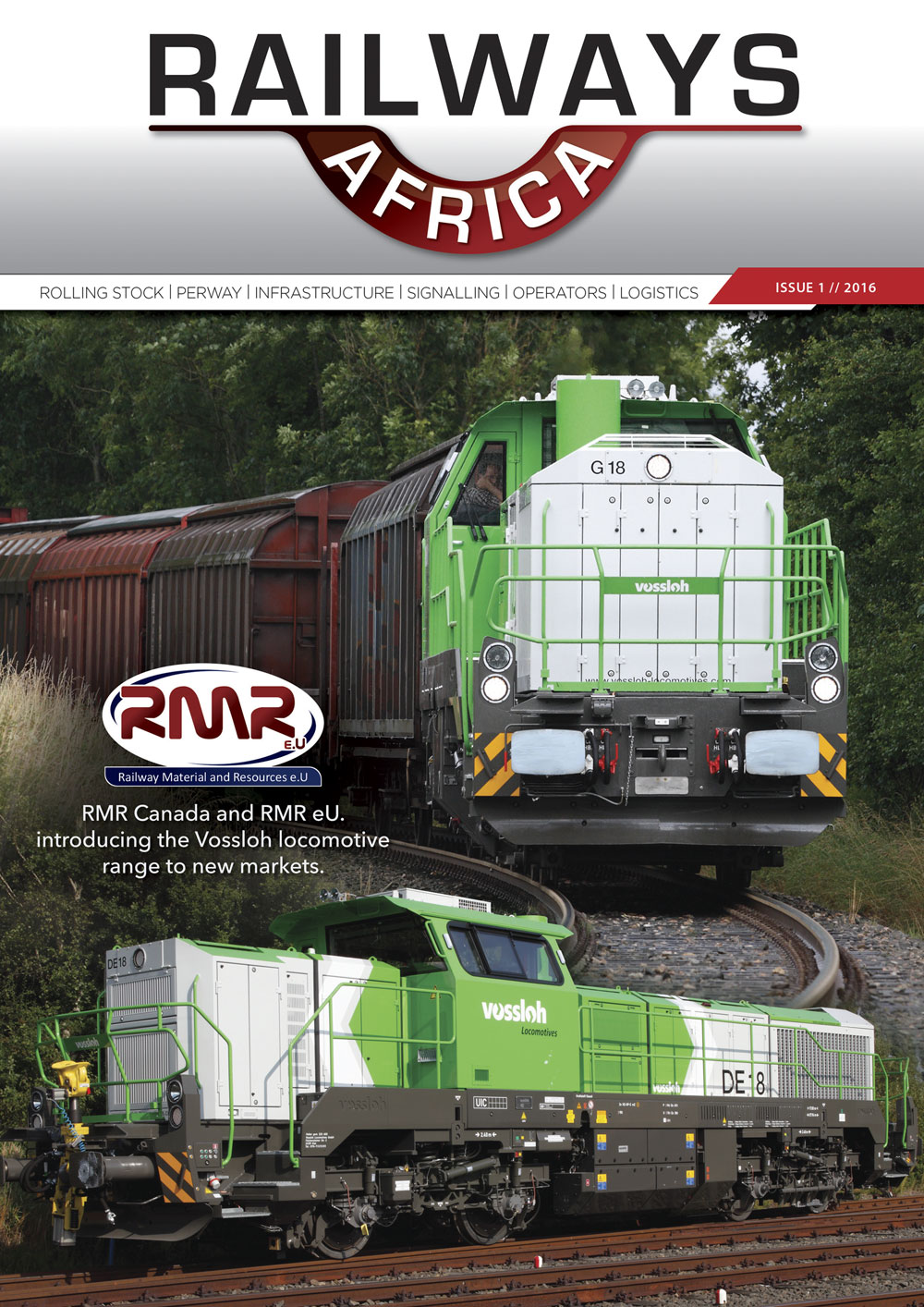 Railways Africa - Issue 1 - 2016