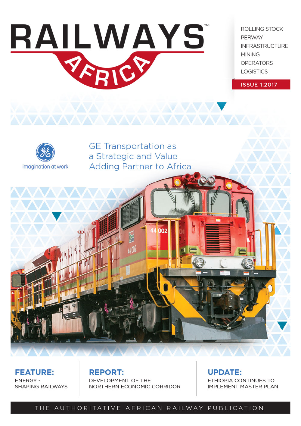 Railways Africa Issue 1 - 2017
