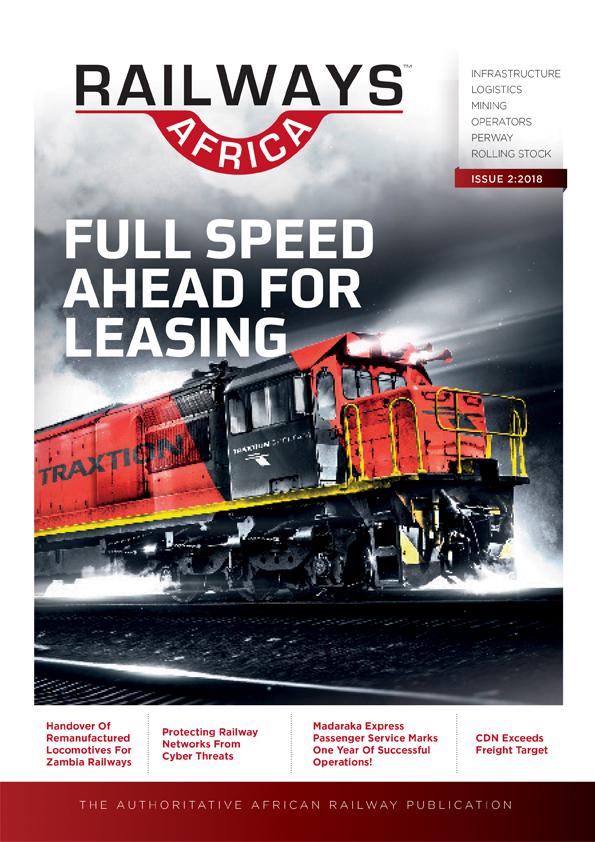 Railways Africa<sup>TM</sup> Issue 2 - 2018