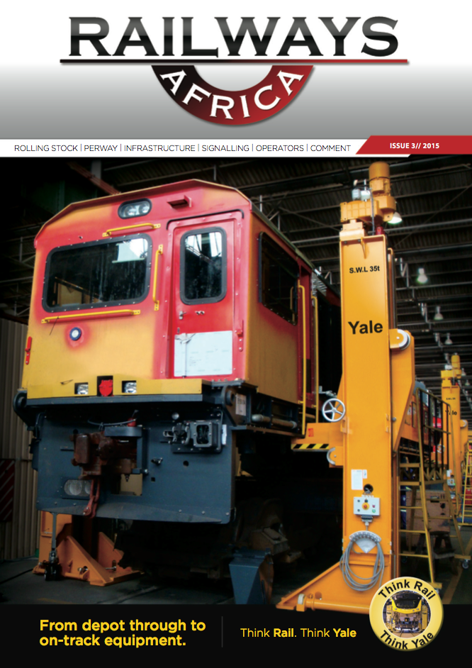 Railways Africa - Issue 3 - 2015