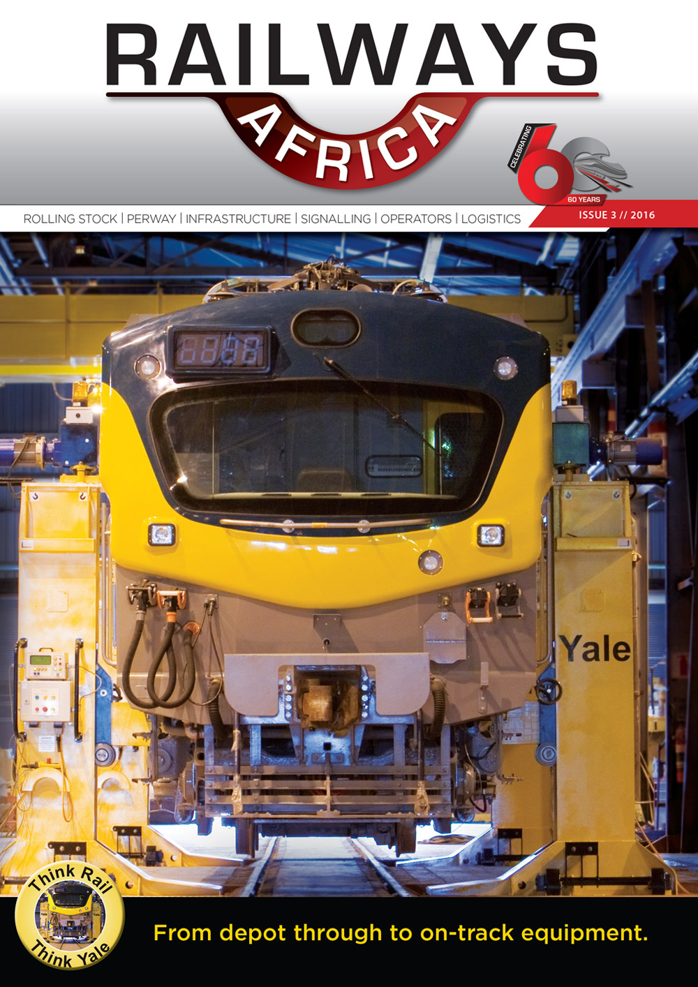 Railways Africa - Issue 3 - 2016