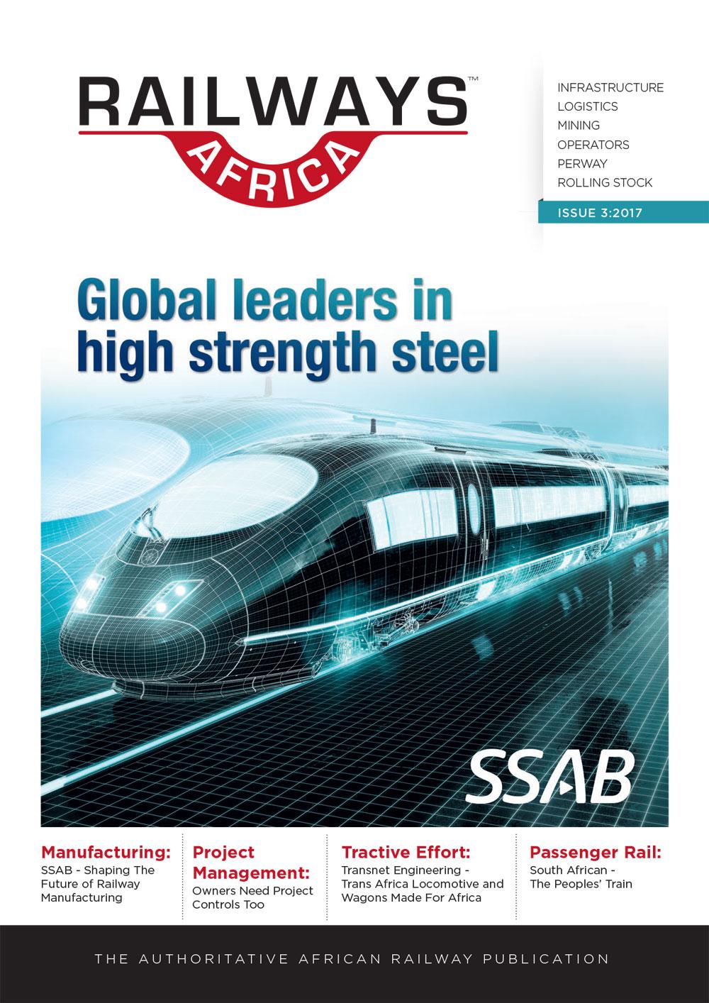Railways Africa Issue 3 - 2017