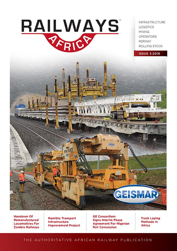 Railways Africa<sup>TM</sup> Issue 3 - 2018