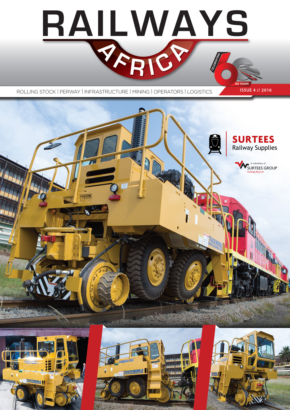 Railways Africa - Issue 4 - 2016