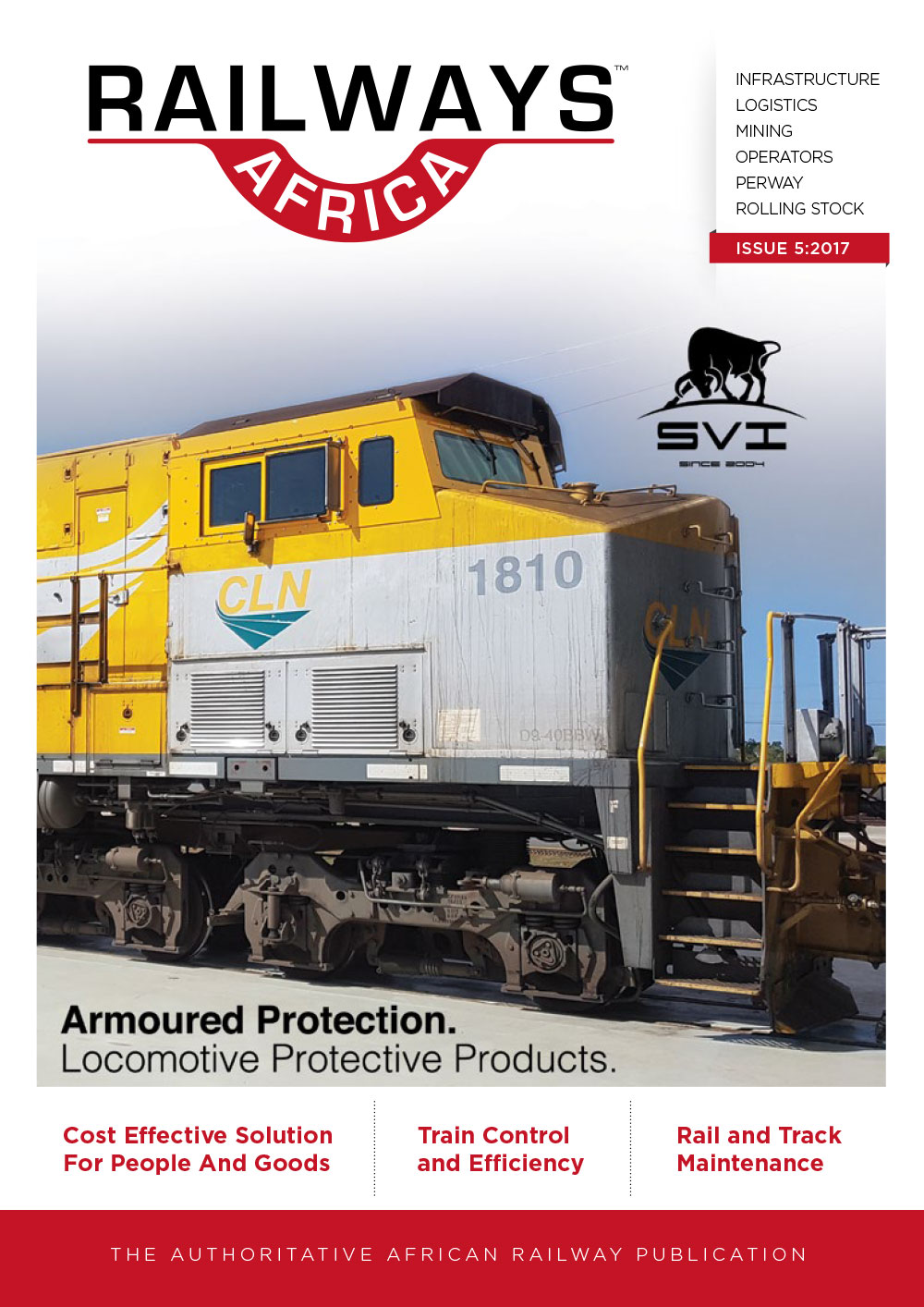 Railways Africa Issue 5 - 2017