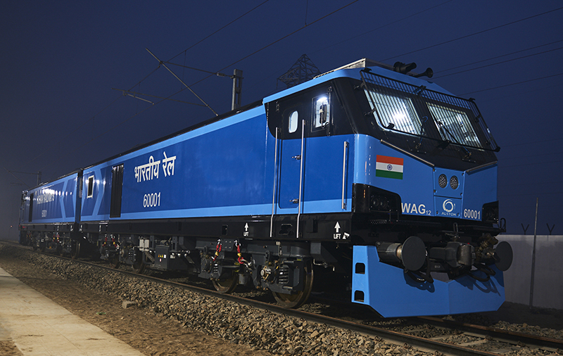 """Alstom Completes Most Powerful All-Electric """"Make In India"""" Locomotive And Announces Contract Wins Worth €75 million In India"""