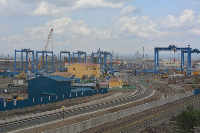 Standard Gauge Railway Line Between Mombasa And Nairobi Is Set To Improve The Overall Efficiency Of Freight Transport