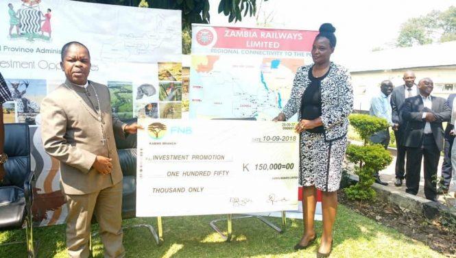 Zambia Railways Limited Donates K150,000.00 Towards The Central Province Expo