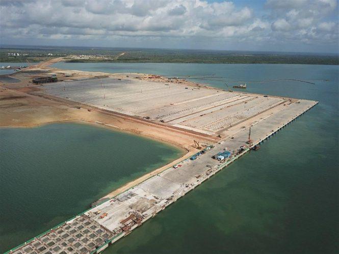 Lamu Port First Berth Is 100% Complete