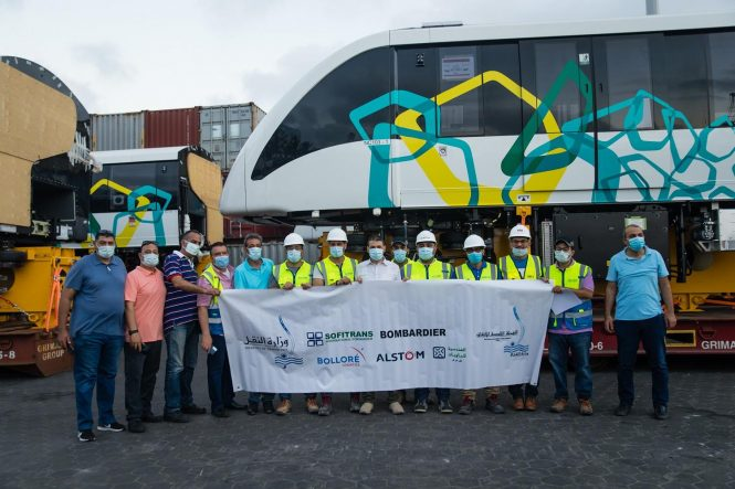 Alstom Successfully Delivers The First Two Innovia 300 Monorail Trains For Cairo Monorail On Time