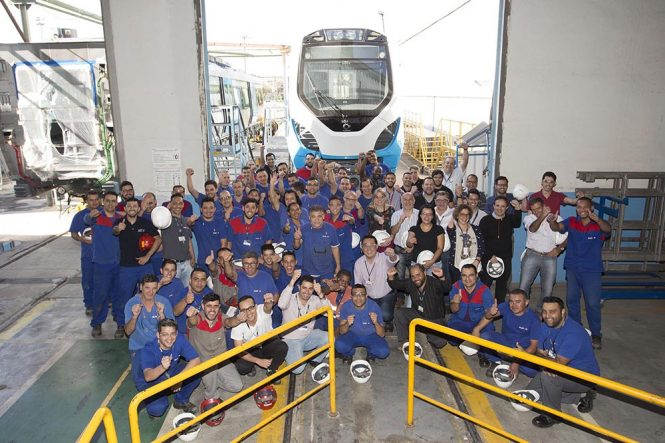 Alstom Completes The 20 First Trains For PRASA Manufactured In Brazil