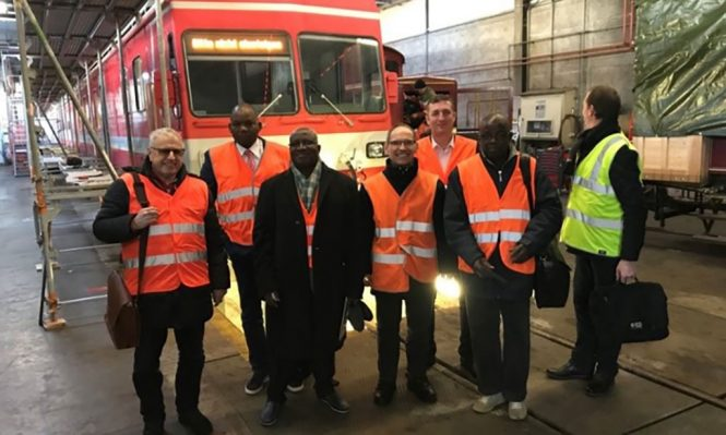 Second Hand Rolling Stock Headed To West Africa