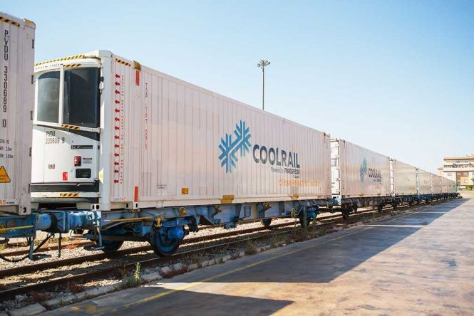 CoolRail Reaches Denmark Travelling All The Way By Rail