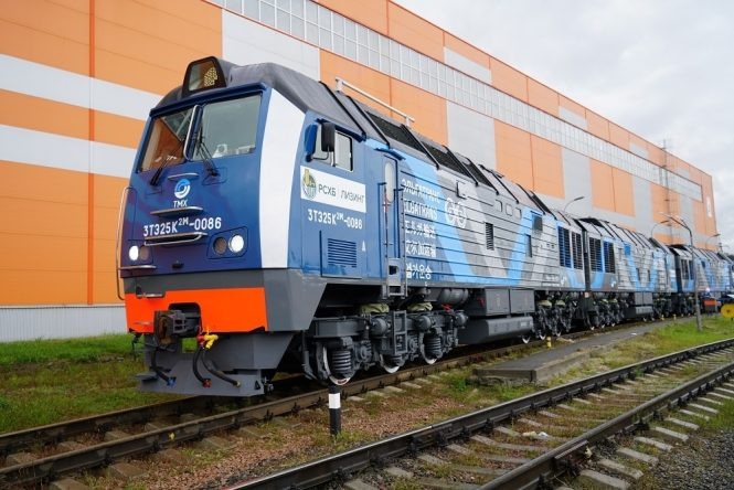TMH Ships More Three-Section Diesel Locomotives To Elga-Trans