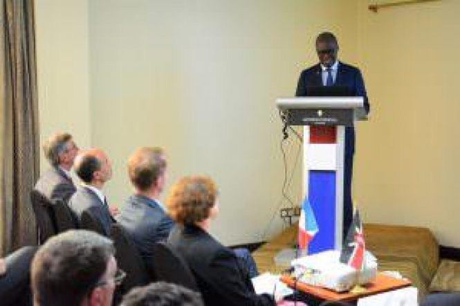 Kenya - Transport CS Meets French Ambassador To Discuss Commuter Rail