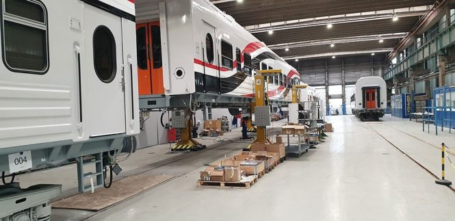 TMH Starts The Assembly Of Passenger Coaches For Egypt