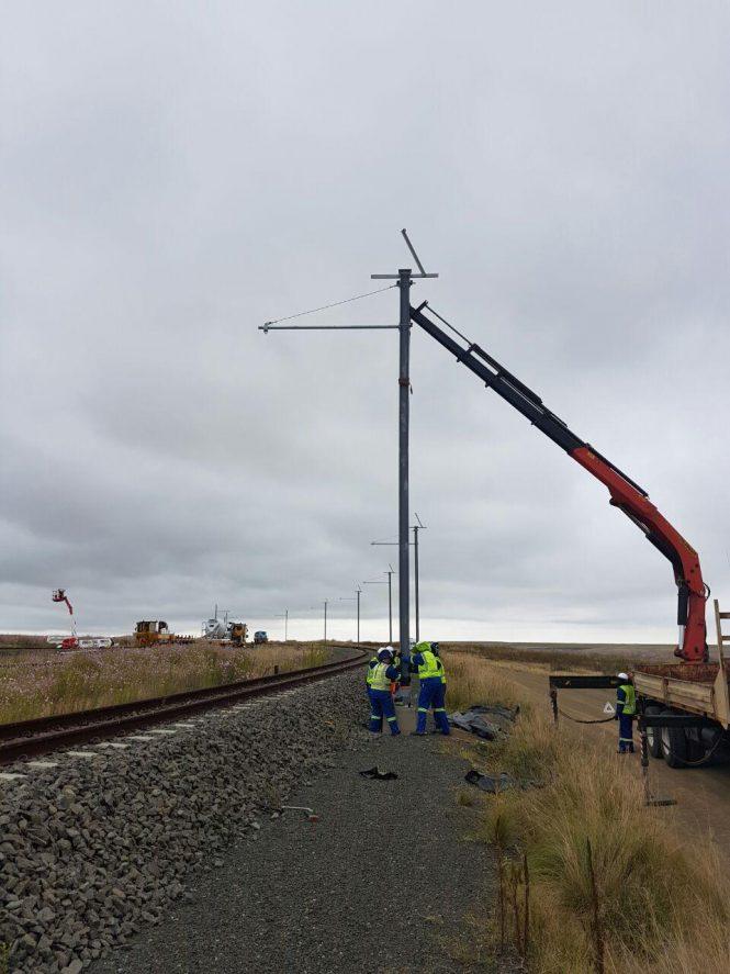 Majuba Rail Link OHTE - Tractionel Enterprise