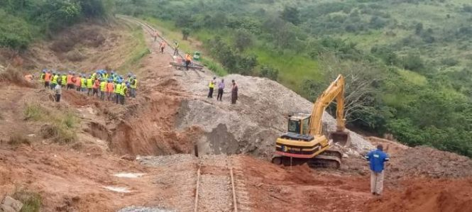 TAZARA Races To Restore Operations After Disruption Caused By A Landslide