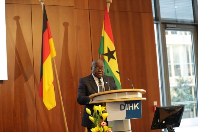 President Akufo-Addo Advocates For Increased Trade And Investment Cooperation With Germany