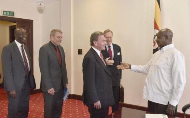 Ugandan President Meets Germany Based Gauff Engineering Investors Railways Africa