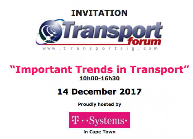 Important Trends in Transport