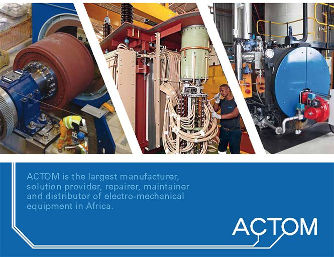 ACTOM Wins Electrical Equipment Sector 'Top 500' Award For Second Year In Succession