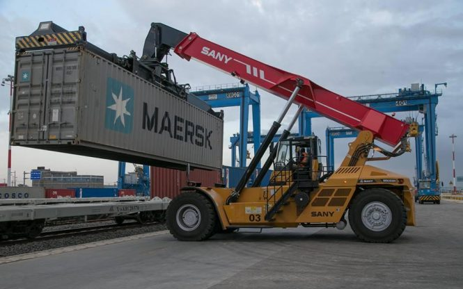 Commercial Freight Services On SGR Line Underway