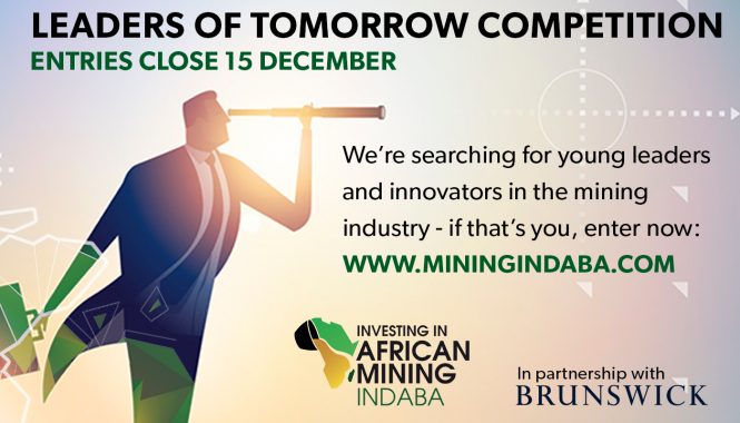Mining Indaba Leaders Of Tomorrow Competition To Celebrate Young Leaders And Innovators In The Mining Industry