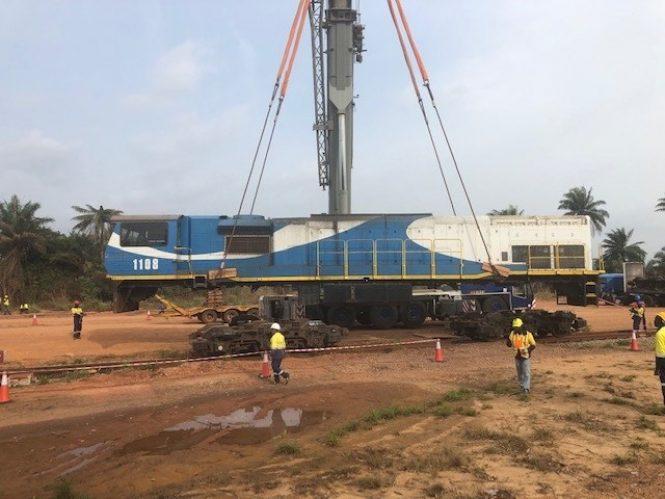 Grindrod Limited Locomotives Return From Sierra Leone   Railways Africa