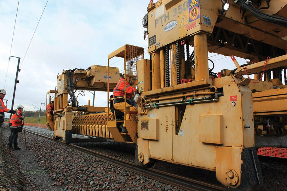 Track Laying Methods In Africa