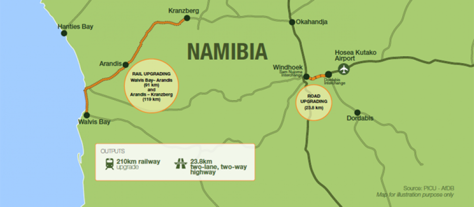 Improving Transportation In Namibia