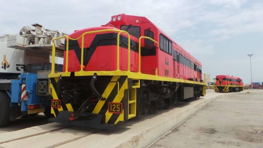 Caminhos de Ferro de Luanda receives locomotives