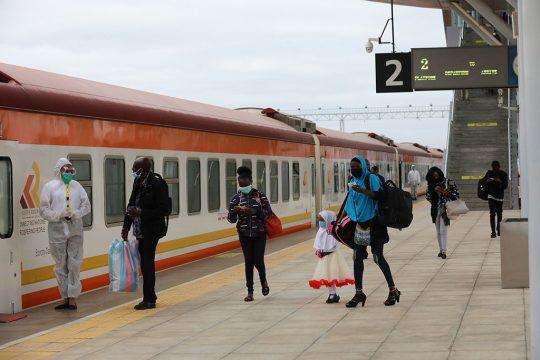Kenya SGR Passenger Services Resume