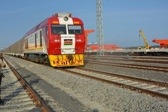 SGR Freight Service In Test Phase