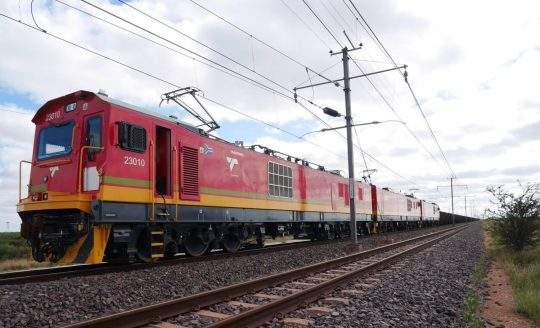 First 3 TRAXX Locomotives Start Commercial Operation in South Africa