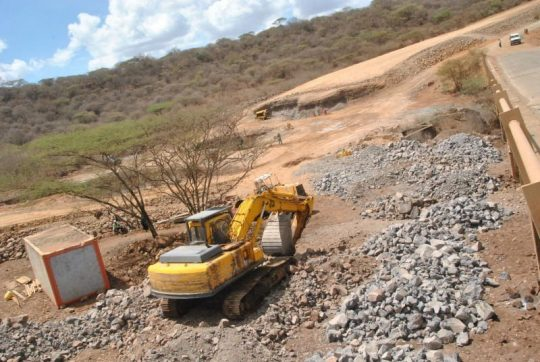 Construction Initiated On The Garsen-Witu-Lamu Road