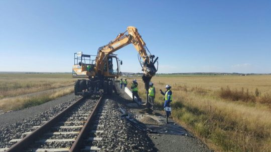 Majuba Rail Link OHTE - Tractionel Enterprise
