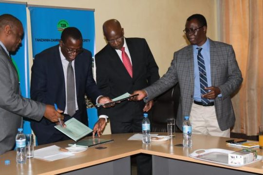 TAZARA, ZRL, NRZ Sign Contract To Move Maize
