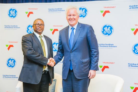GE And Transnet Share Their Plan To Digitise Africa