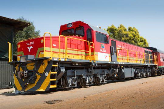 President Zuma Unveils Africa's First Trans-Africa Locomotive