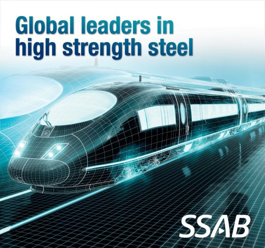 SSAB High-Performance Steel - Shaping The Future of Railway Manufacturing