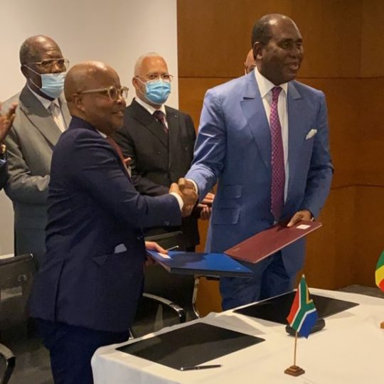 SAPRO Mayoko SA And Thelo DB Sign Agreement For The SAPRO Mayoko Railway Project In The Republic Of Congo