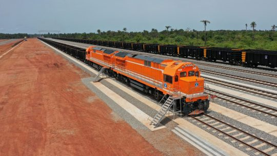The SMB-Winning Consortium Inaugurates A 125km Railway Line As Part Of The Boffa-Boké Project