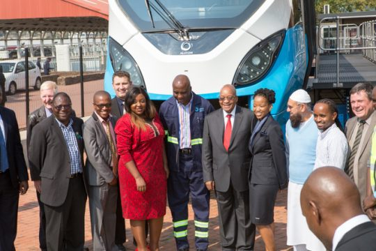 Presidential Launch Of Peoples' Trains For South Africans