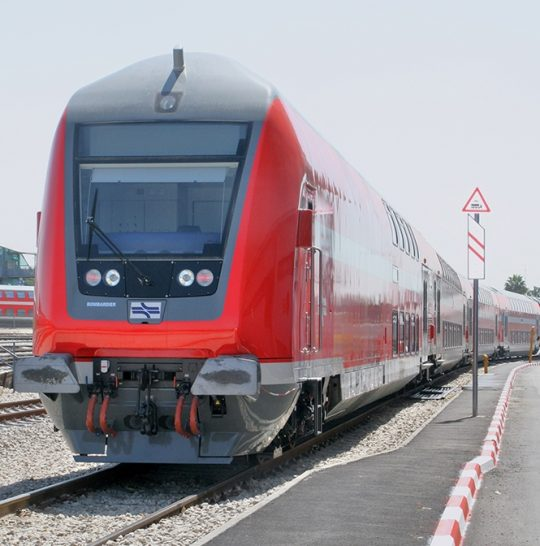 Bombardier To Provide 33 Additional TWINDEXX Vario Double-Deck Coaches To Israel Railways