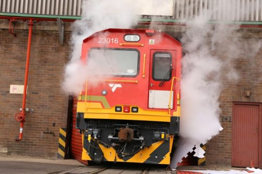 Handover Of First TRAXX Locomotive in Africa