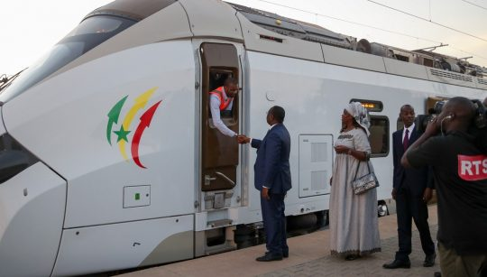 Systra Plays Major Role In First Trial Run Of Senegal's Regional Express Train, An Unprecedented Project In West Africa