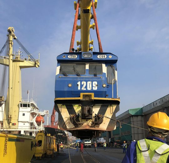 Grindrod Limited Locomotives Return From Sierra Leone