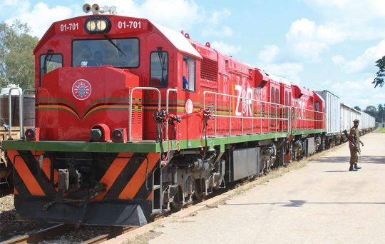 Official Handover Of Remanufactured Locomotives for Zambia Railways
