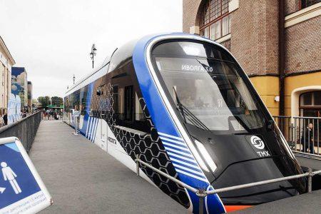 TMH Presents Ivolga 3.0 EMU To Passengers